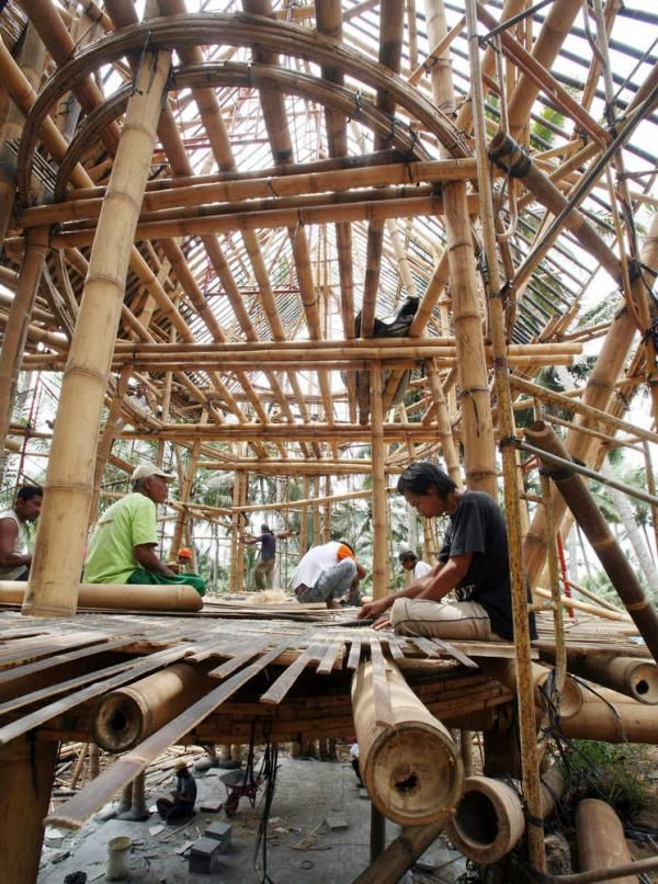 28 Best Images About Building With Bamboo On Pinterest