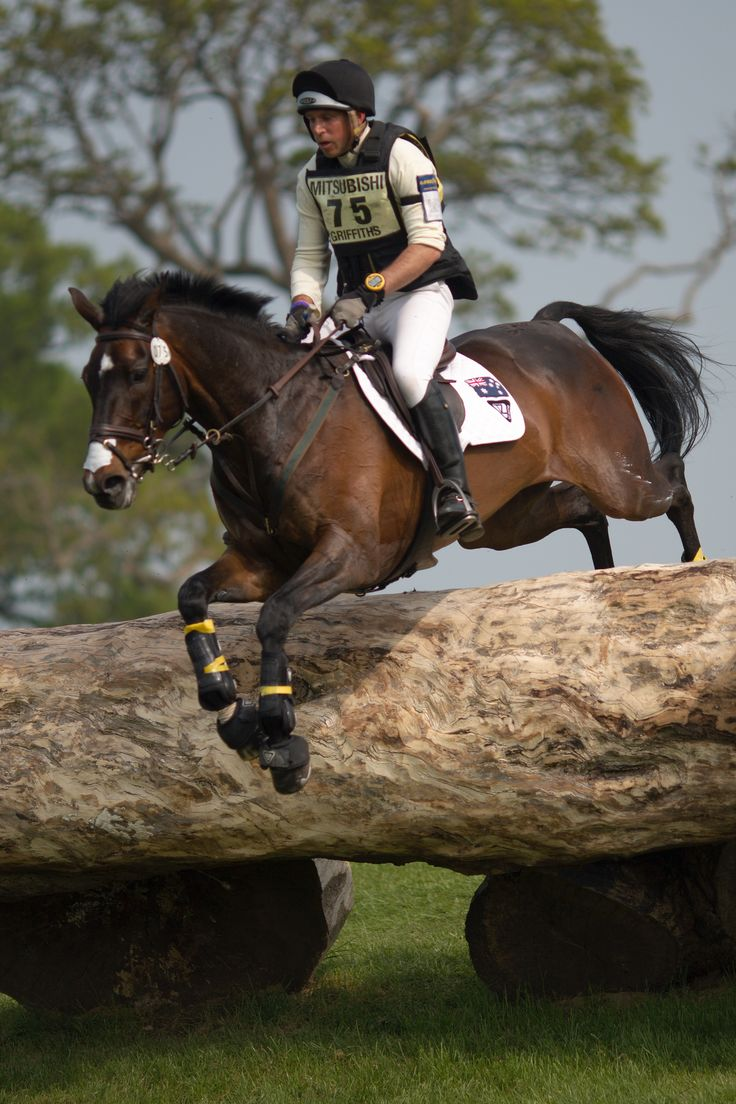 Sam Griffiths (AUS) and Happy Times, Badminton Horse Trials 2011