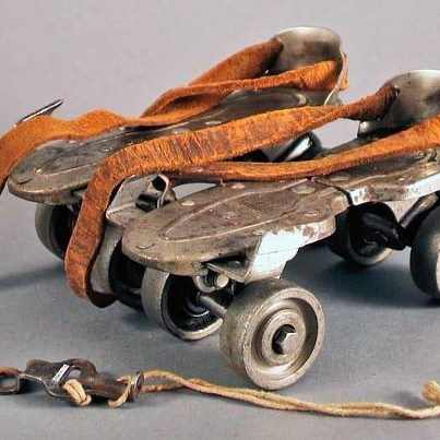 roller skates  - every night on the front sidewalk in the summer