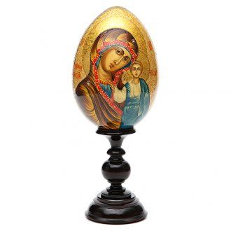 Russian icon egg, Our Lady of Kazan   online sales on HOLYART.co.uk