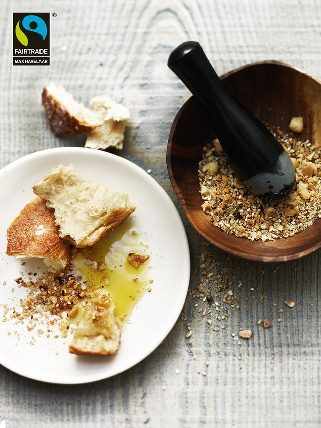 dukkah met olie en brood   ZTRDG magazine