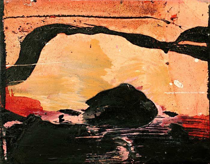 Sans titre par Marcelle Ferron - Galerie Lamoureux Ritzenhoff