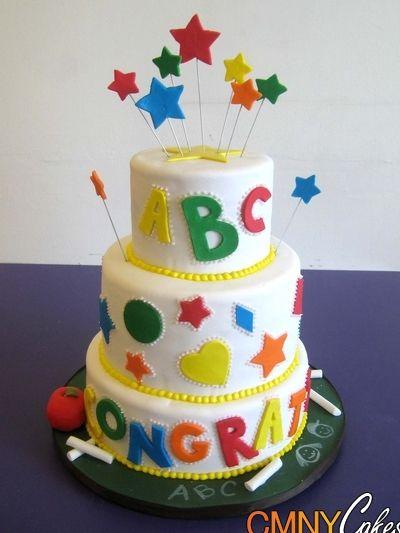 Teacher's Graduation Cake