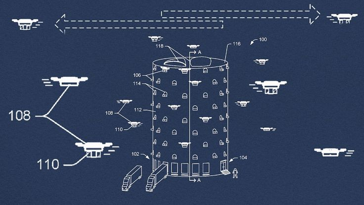 #Amazon Just Patented A Drone Skyscraper and considering recent developments at the company, it's not as crazy as it sounds.
