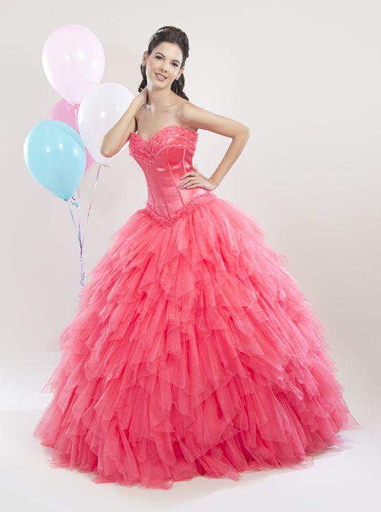 25 best Vestidos de 15 images on Pinterest | Wedding dress, Wedding ...