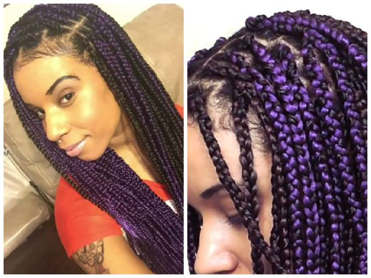 1 Simple Way You Can Limit Breakage While Wearing Box Braid Extensions via @blackhairinfo