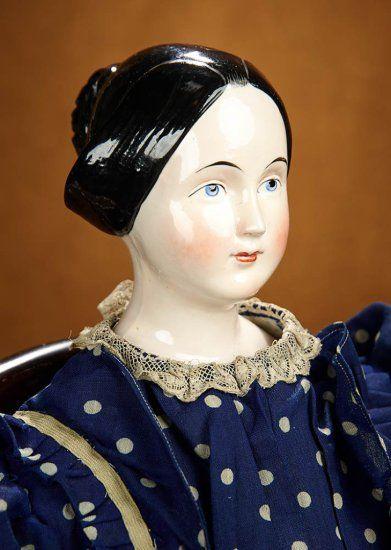 Grand German Porcelain Lady Do... Auctions Online | Proxibid