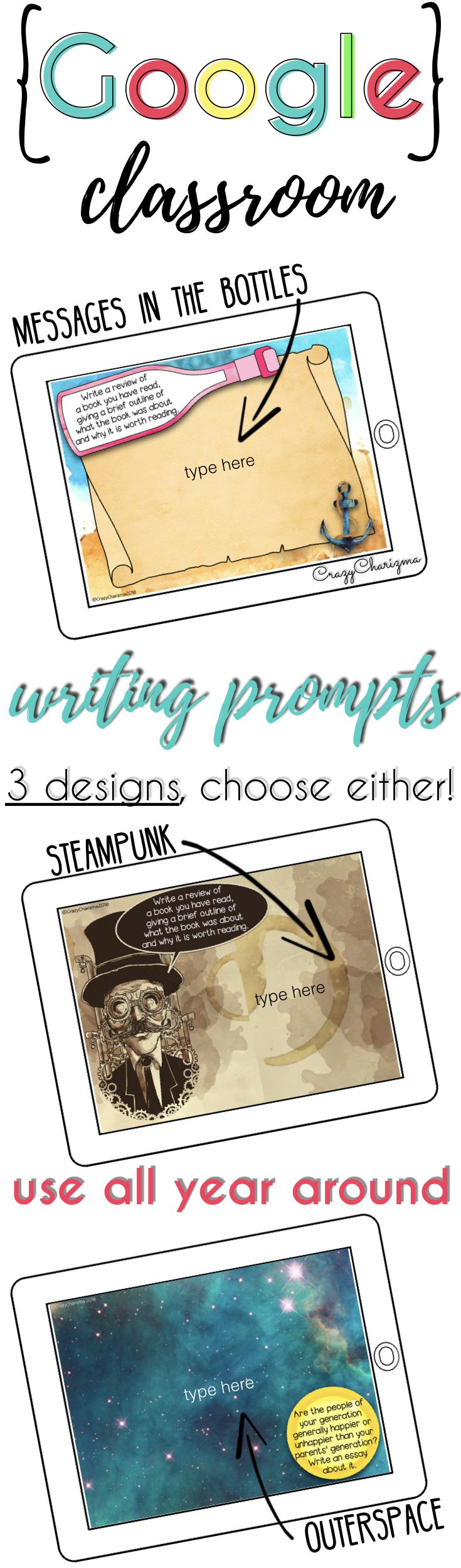 best ideas about high school writing prompts go google now would you like to go paperless and engage your kids