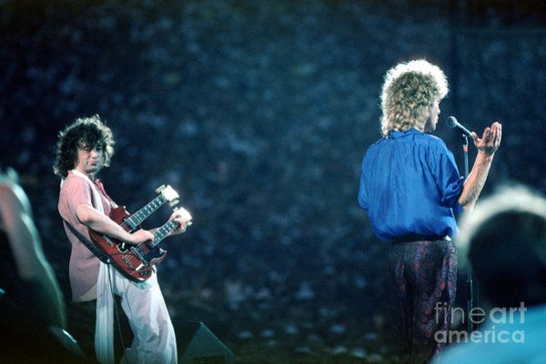Jimmy Page And Robert Plant By Wernher Krutein Robert Plant Jimmy Page Robert