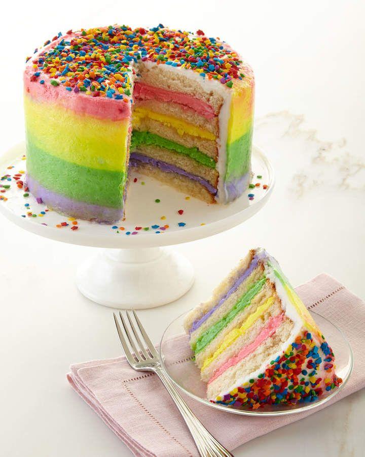 Annie pies bakery rainbow cake rainbow cake gourmet