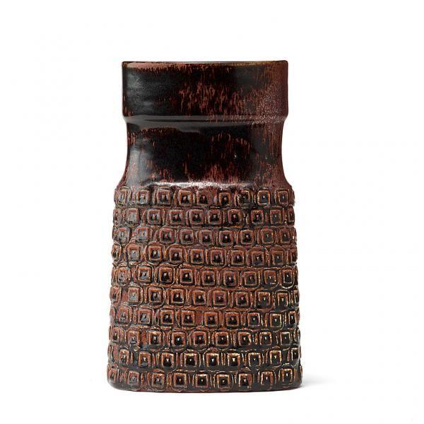 Stig Lindberg - 1916-1982 - STIG LINDBERG, vas av stengods, Gustavsbergs studio [...], Design Moderne et Nordique à Bukowskis   Auction.fr