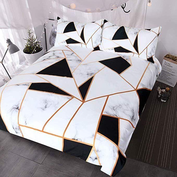 Minimalist Quilt Cover Online Pakistan In 2020 Marble Bed Set Textured Bedding Duvet Bedding Sets