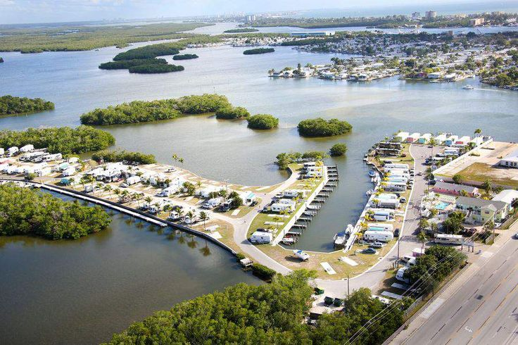 Fort myers beach rv park camping waterfront florida
