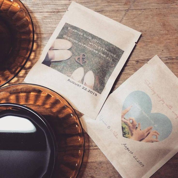 世界にひとつだけ♩『四国珈琲』のオリジナルドリップバッグコーヒがプチギフトに最適*にて紹介している画像