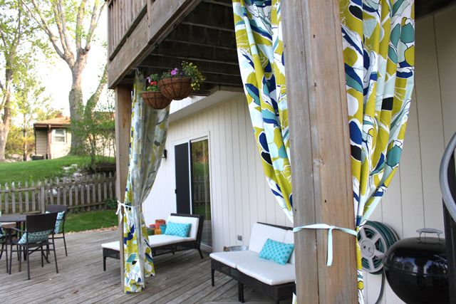 Outdoor curtains from ikea home style pinterest for Outdoor curtains for patio ikea