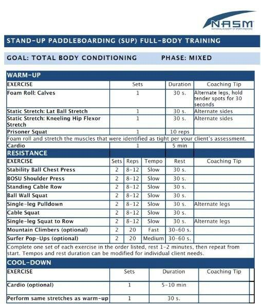 15 best NASM Sample Exercise Programs images on Pinterest Health - trainer evaluation form