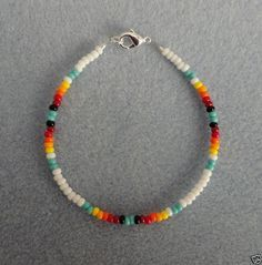 This Native America beaded bracelet is the perfect addition to any of our Indian costumes for men and women. Description from braceletbeadz.blogspot.com. I searched for this on bing.com/images