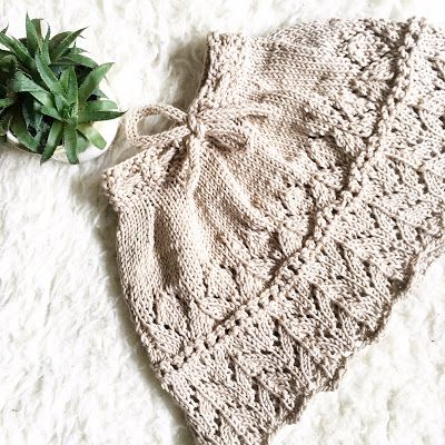 Teo's : How to knit a Baby Skirt