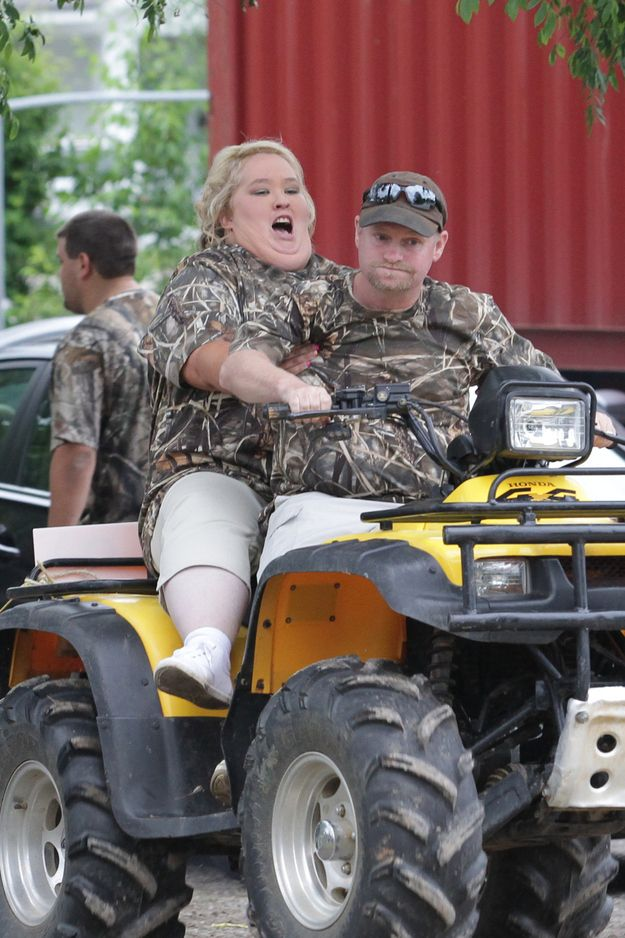 Mama June Got Married In A Camouflage Wedding Dress This Weekend