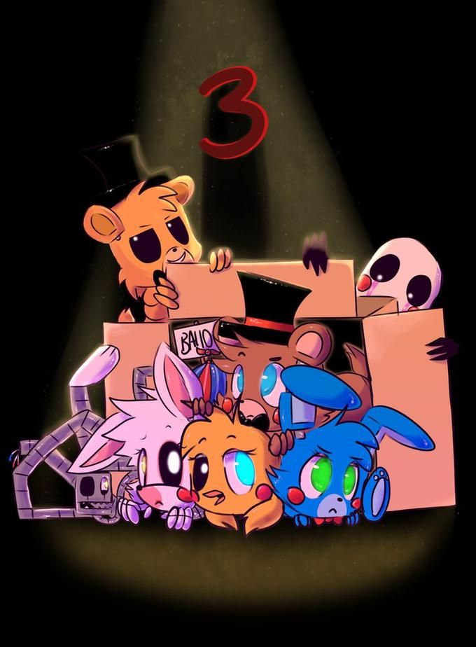 Five Nights At Freddy S Bedroom Decor: Five Nights At Freddy's 3. Golden Freddy, Toy Freddy, Toy