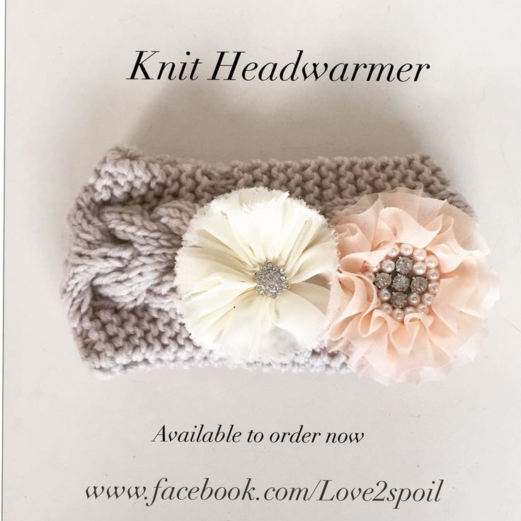 Love this gorgeous winter Headwarmer. ❤️