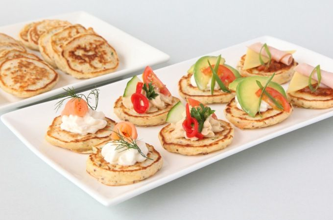 Try my savoury Savoury Pikelets from book 6. Makes a great after school snack.