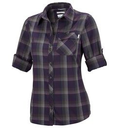 Columbia Sportswear Saturday Trail Plaid Long Sleeve Shirt - Women's