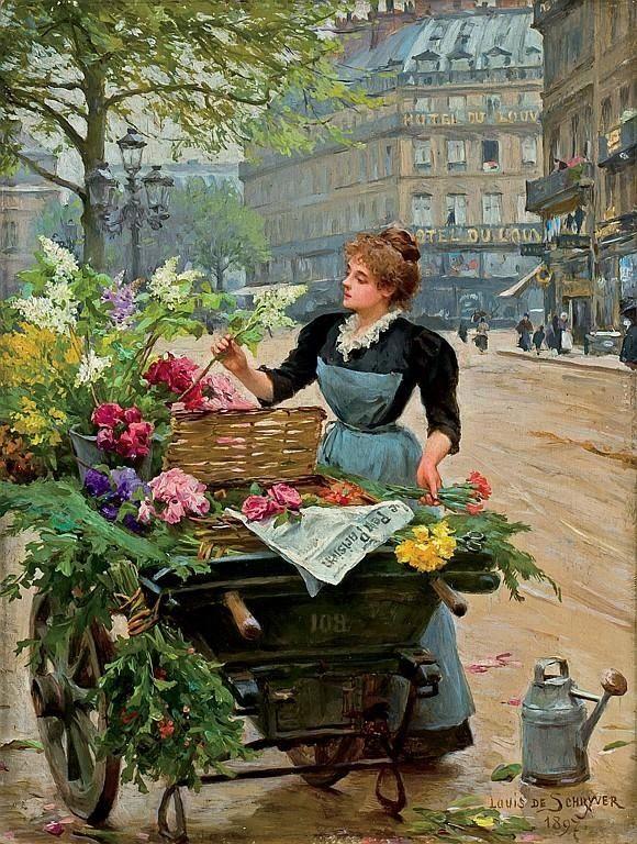 Louis Marie de Schryver (french, 1862-1942)