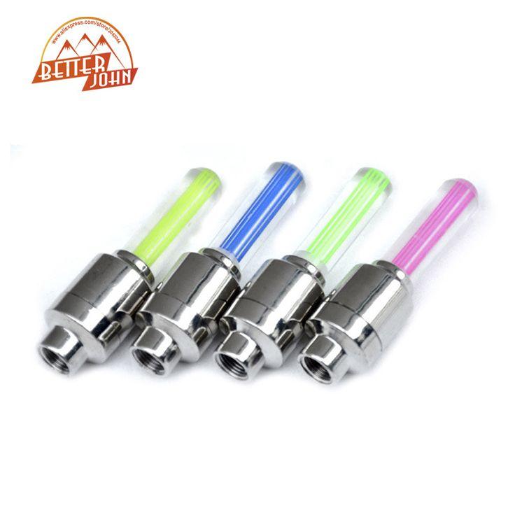 LED Flaş Lastik Işık Vana Kapağı Işık Bisiklet Bisiklet Motosiklet Araba Tekerlek Işık Blister Ambalaj Başına 2 adet LED Lastik işık
