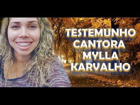 TESTEMUNHO CANTORA MYLLA KARVALHO EX BANDA COMPANHIA CALYPSO