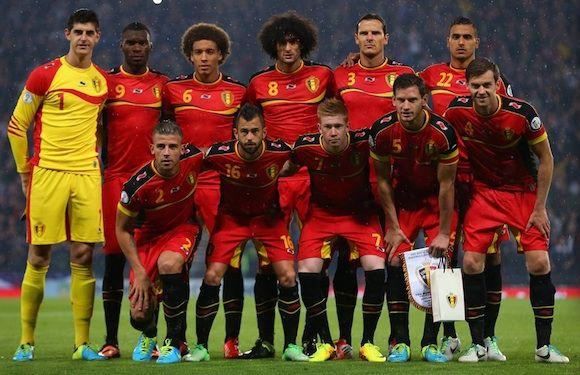 Belgica comienza su aventura en el mundial 2014 enfrentando a Argelia #futbol