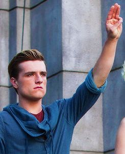 Josh Hutcherson | Peeta | Catching fire...just pointing this out, but look at his jaw!!!!