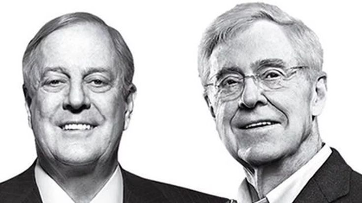 """Narrated by esteemed actor Emma Thompson, the documentary  """"The Doubt Machine: Inside the Koch Brothers' War on Climate Science"""" reveals how the…"""