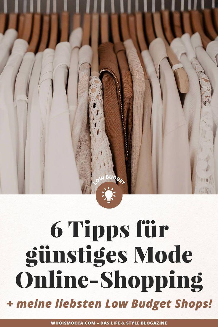 6 Tipps für günstiges Mode Online-Shopping + meine liebsten Low Budget Shops!