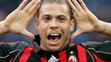 Ronaldo has scored for both Milan and Inter in the Derby della Madonnina