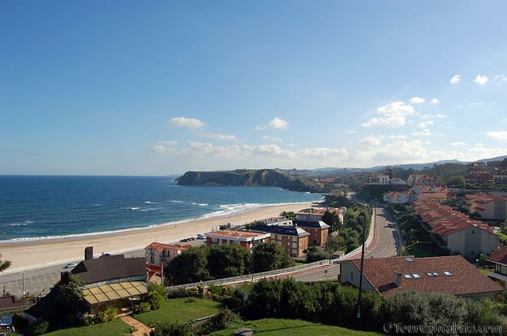 Villa y playa de Comillas | Cantabria | Spain