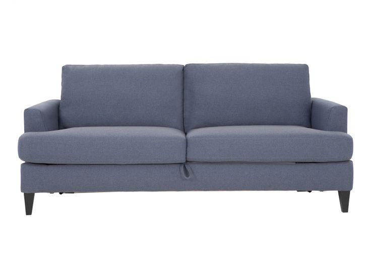 JAMES 3-sits Bäddsoffa Blå i gruppen Inomhus / Soffor / Bäddsoffor hos Furniturebox (110-50-94939)