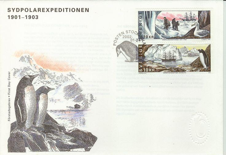 Sweden FDC 2002