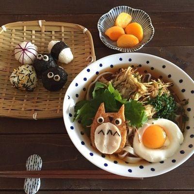 トトロ*デコ かき揚げうどん by riiさん | レシピブログ - 料理 ...
