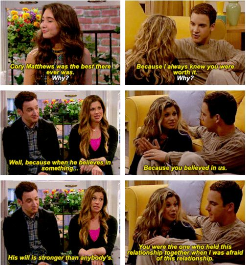 Girl Meets World - Cory Matthews & Topanga Lawrence & Riley Matthews