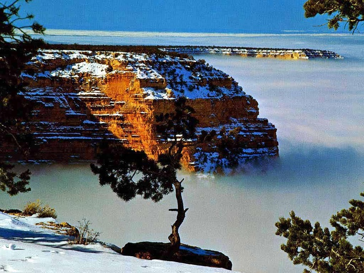 Grand Canyon winter ...