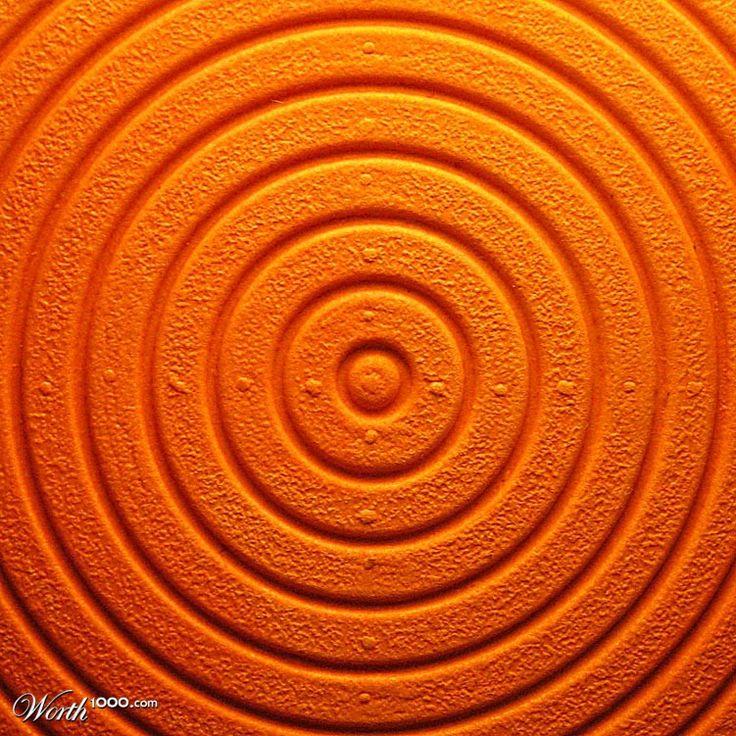 Color Naranja - Orange!!! Circles