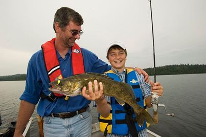 Fishing with Dad! #algomacountry