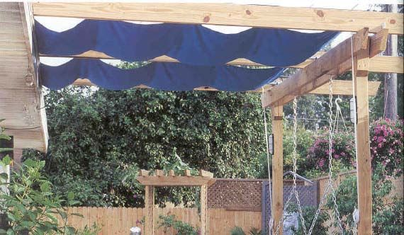 25 best ideas about canvas canopy on pinterest pergola for Deck gets too hot