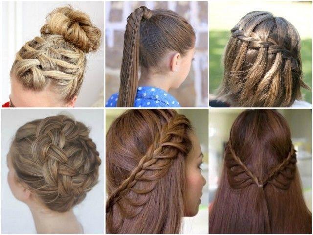 20 Beautiful Braid Hairstyle Diy Tutorials You Can Make At Home Diy Hairstyle Braids Cool Braid Hairstyles Hair Braid Diy Hair Styles