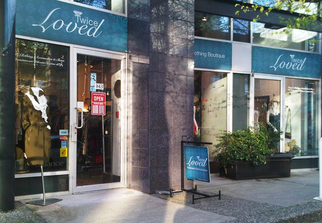 Great, new High-end Women's thrift and consignment store on Seymour St. Vancouver...Super!!!!! Beautiful.  Amazing buys!!