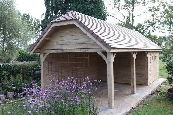 14 02 2013 18 45 50 cottage tuinhuis overdekt terras in eik tegelpannen 514 jpg 800 533 pixels - Smeedijzeren pergola voor terras ...