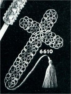 My great grandma did these all the time..free pattern…maybe I will take up tatting for a bit again…. Ashley Helfrich