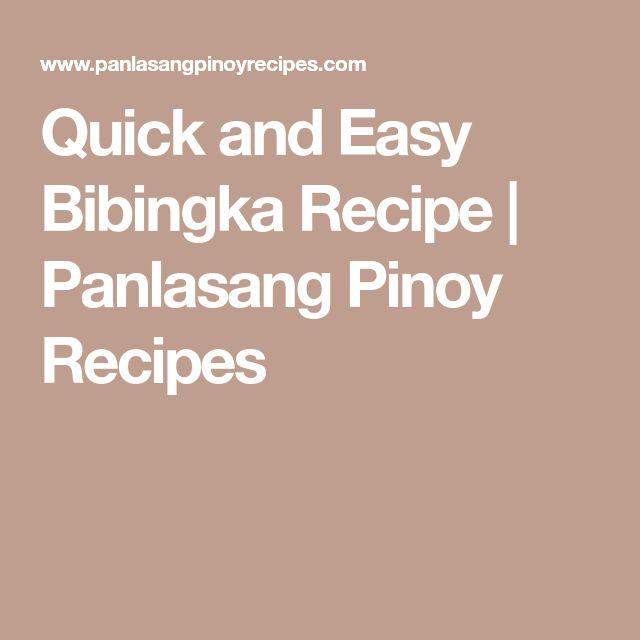 Quick and Easy Bibingka Recipe | Panlasang Pinoy Recipes