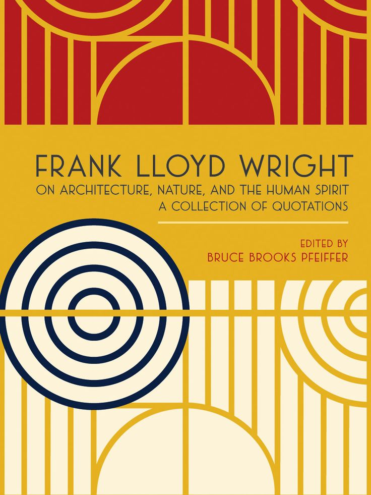 Frank Lloyd Wright on Architecture, Nature, and the Human Spirit: A Collection of Quotations edited by Bruce Brooks Pfeiffer. Gold award winner in the Gift/Holiday/Specialty Book category.